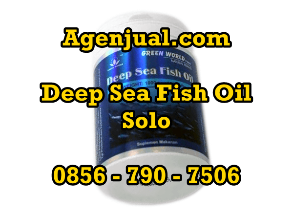 Agen Deep Sea Fish Oil Solo | 0856-790-7506