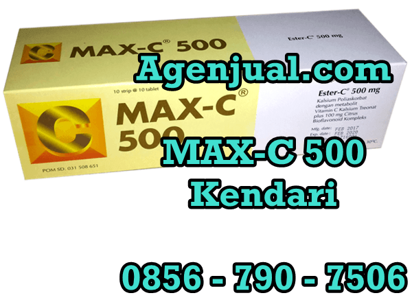 Agen MAX-C 500 Kendari | 0856-790-7506