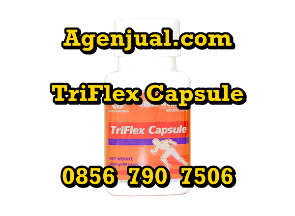 Agen Triflex Capsule Depok   0856-790-7506