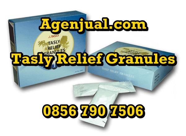 Agen Tasly Relief Granules Tangerang | 0856-790-7506